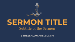 Anchor for My Soul  PowerPoint image 8