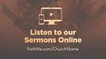 Kingdom of God sermons online 16x9 PowerPoint image