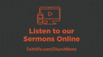 The Heart of a Leader sermons online 16x9 PowerPoint image