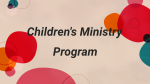 Join Us At Church Name Kids  PowerPoint Photoshop image 3
