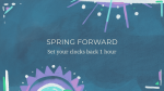 Spring Forward Shapes  PowerPoint Photoshop image 3