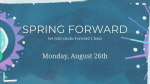 Spring Forward Shapes  PowerPoint Photoshop image 4