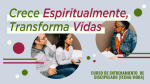 Grow Spiritually Transform Lives  PowerPoint image 4