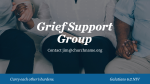 Grief Support Group Blue  PowerPoint image 4