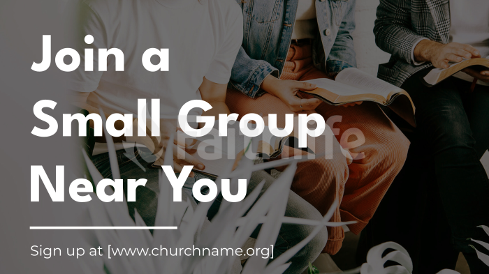 Join A Small Group Near You large preview