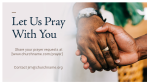 Let Us Pray With You  PowerPoint image 4