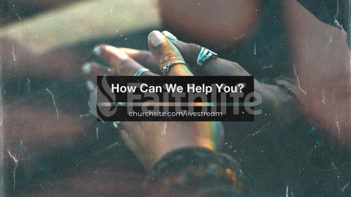 How Can We Help You Hands large preview