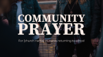 Community Prayer  PowerPoint image 1
