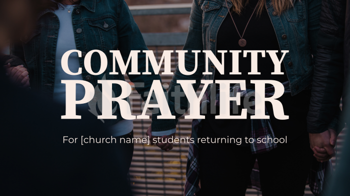 Community Prayer large preview