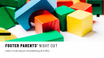 Foster Parents' Night Out  PowerPoint image 1