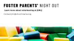 Foster Parents' Night Out  PowerPoint image 3