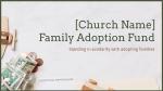 Family Adoption Fund  PowerPoint image 1