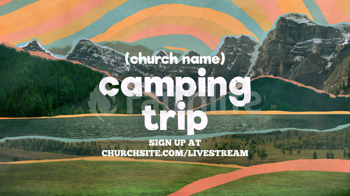 Church Name Camping Trip large preview