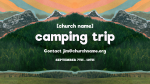 Church Name Camping Trip  PowerPoint image 2