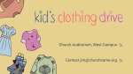 Kid's Clothing Drive 16x9 43270590 e485 46e6 bca7 34ac1426a62a  PowerPoint image