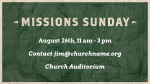 Missions Sunday Map  PowerPoint image 4
