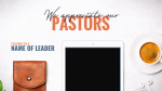 We Appreciate Our Pastors  PowerPoint image 1