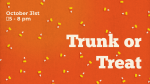 Trunk Or Treat Corn  PowerPoint image 1