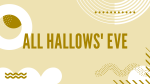 All Hallows' Eve  PowerPoint image 1