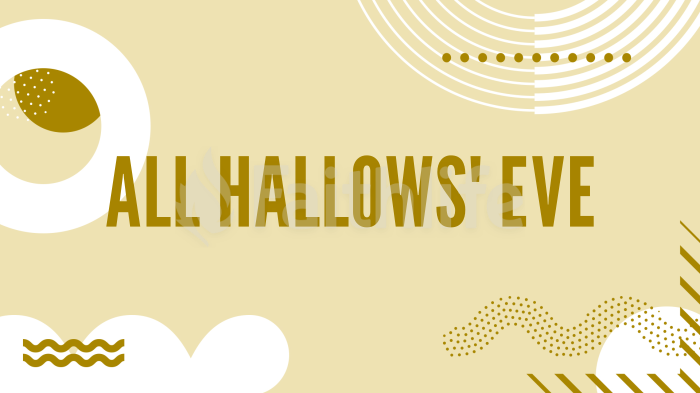 All Hallows' Eve large preview