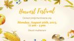 Harvest Festival Yellow  PowerPoint image 5