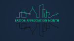 Pastor Appreciation Month City  PowerPoint image 1