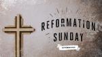 Reformation Sunday Cross  PowerPoint image 1