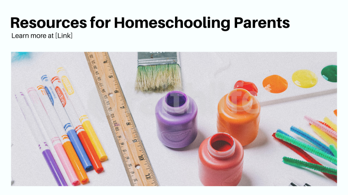 Resources for Homeschooling Parents large preview