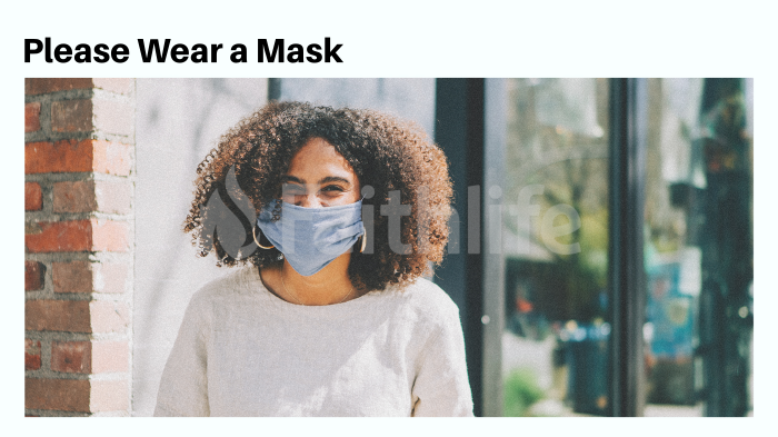 Please Wear a Mask large preview