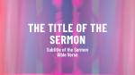 Sabbath  PowerPoint image 6