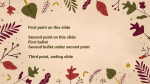 Thanksgiving Foliage  PowerPoint image 2