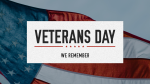 Veterans Day Stripes  PowerPoint image 1
