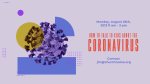 How to Talk to the Kids About Coronavirus  PowerPoint image 3