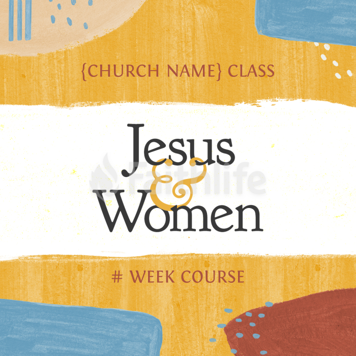 Jesus & Women Social Shares large preview