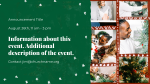 Virtual Christmas Party  PowerPoint image 2