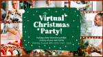 Virtual Christmas Party  PowerPoint image 4