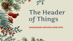 Christmas Decor Volunteers Needed  PowerPoint image 3