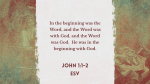 The Word Became Flesh Gothic  PowerPoint image 4
