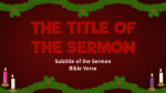 Advent Texture  PowerPoint image 5