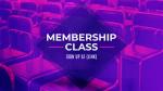 Membership Class  PowerPoint image 1