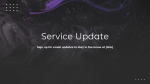 Service Update Marble  PowerPoint image 1