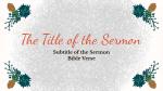 Merry Christmas Cardinal  PowerPoint image 5