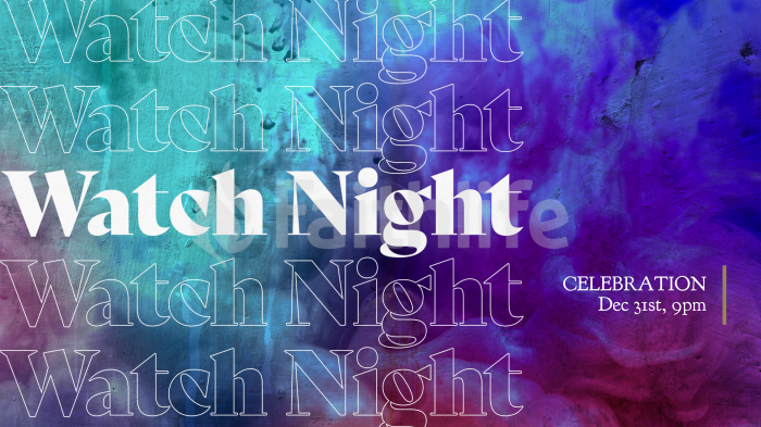 Watch Night Celebration large preview