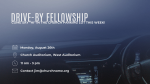 Drive-By Fellowship  PowerPoint image 3