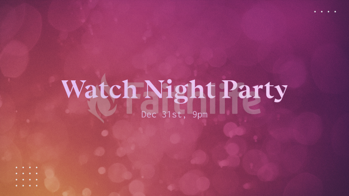 Watch Night Party large preview