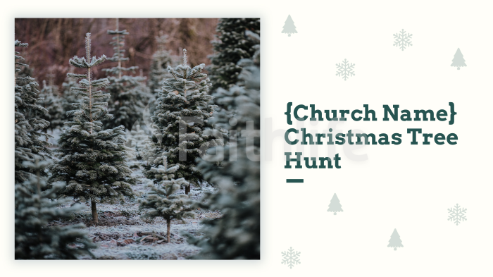 {Church Name} Christmas Tree Hunt large preview