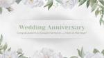Wedding Anniversary White  PowerPoint image 1