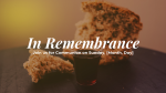 In Remembrance  PowerPoint image 1
