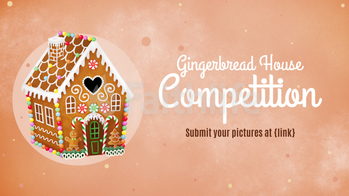 Gingerbread House Competition large preview