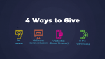 4 Ways to Give  PowerPoint image 1